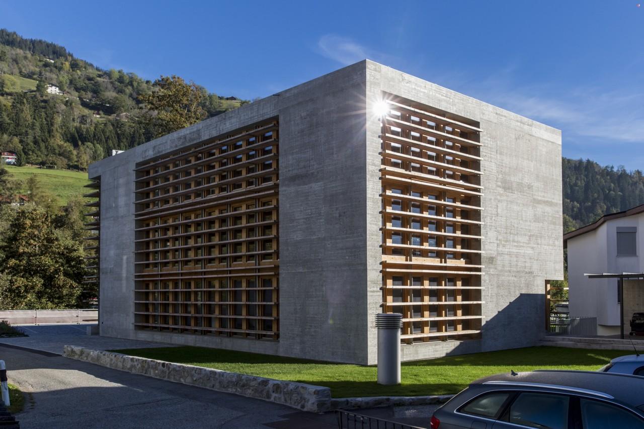 Office Buildings Cavigelli, Ilanz